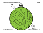Christmas Mazes Set 1