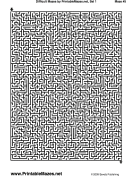This is a picture of Decisive Printable Mazes Pdf