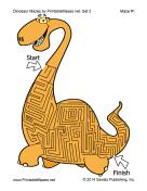 Dinosaur Mazes Set 2