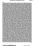 "Hard Mazes Set 6 — ""No Picnic"""