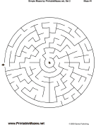 "Simple Mazes Set 2 — ""Easy As Pie"""